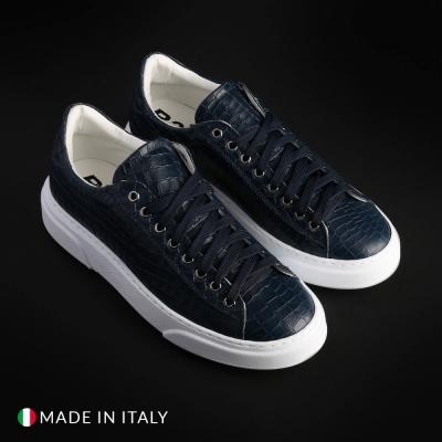 Pantofi sport R21 4190_PELLE Albastru