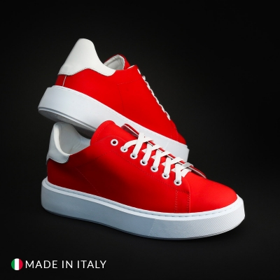 Pantofi sport R21 CALIFORNIA_GOMM Rosu