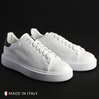 Pantofi sport R21 CALIFORNIA_PELLE Alb