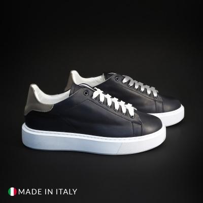 Pantofi sport R21 CALIFORNIA_PELLE Albastru