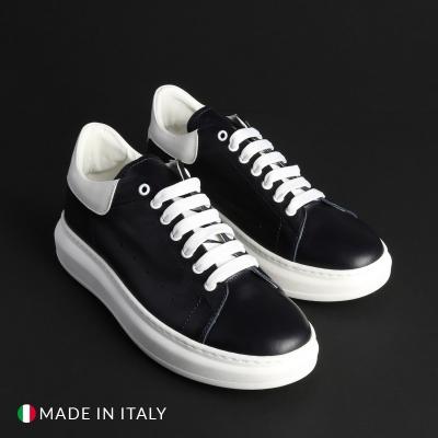 Pantofi sport Duca Di Morrone REY_1_GOMM Albastru
