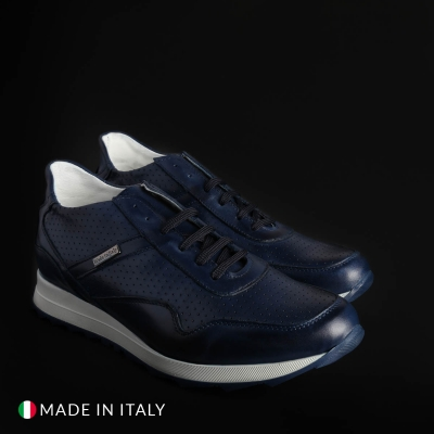 Pantofi sport Sb 3012 202D_PELLE Albastru