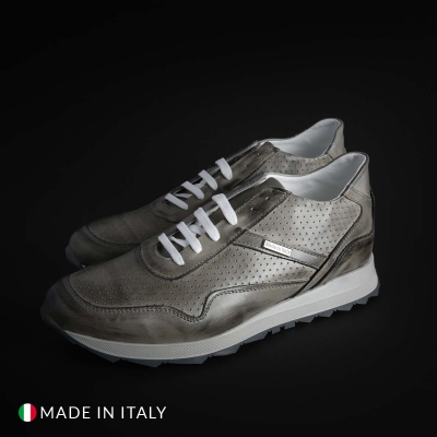 Pantofi sport Sb 3012 202D_PELLE Gri