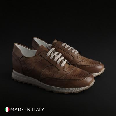 Pantofi sport Sb 3012 202D_PELLE Maro