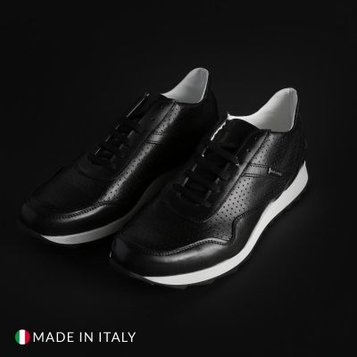 Pantofi sport Sb 3012 202D_PELLE Negru