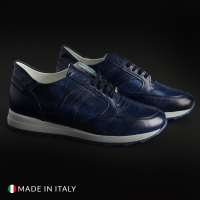 Pantofi sport Sb 3012 405_CRUST Albastru