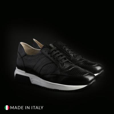 Pantofi sport Sb 3012 405_CRUST Negru