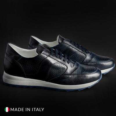Pantofi sport Sb 3012 405D_PELLE Albastru