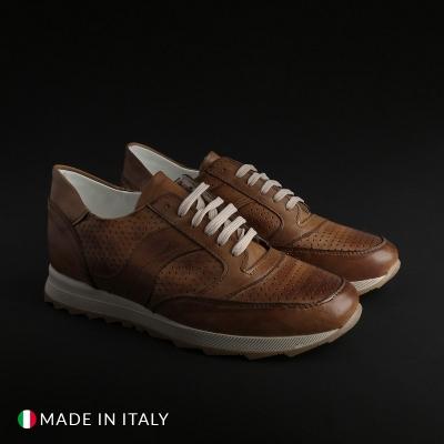 Pantofi sport Sb 3012 405D_PELLE Maro
