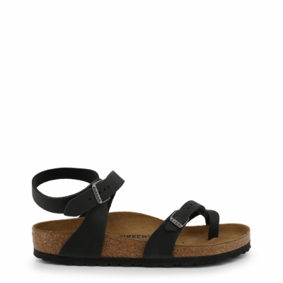 Papuci Birkenstock YARA_OILED-LEATHER Negru