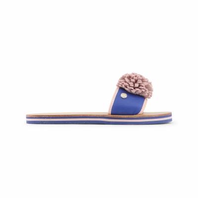 Papuci Love Moschino JA28012G15ID Albastru
