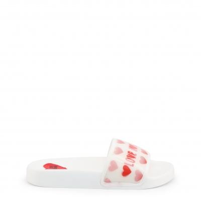 Papuci Love Moschino JA28022G1CI11 Alb