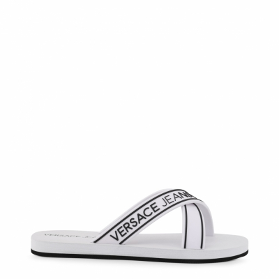 Papuci Versace Jeans YTBSQ5 Alb