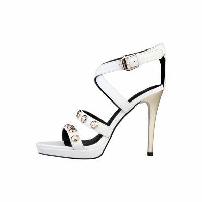 Sandale Versace Jeans E0VLBS01 Alb