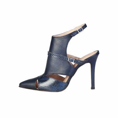 Pantofi cu toc Pierre Cardin LAETITIA Albastru