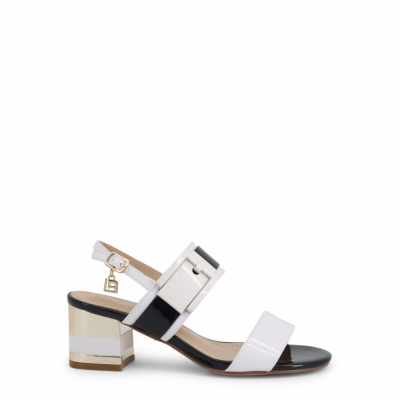 Sandale Laura Biagiotti 6011 Alb