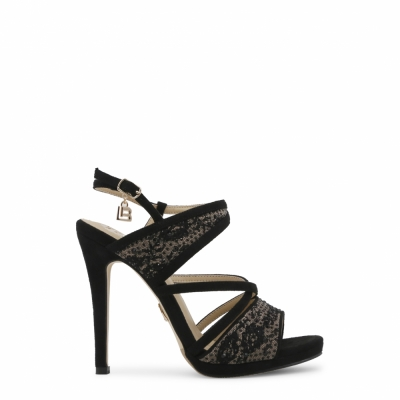 Sandale Laura Biagiotti 635_CLOTH Negru