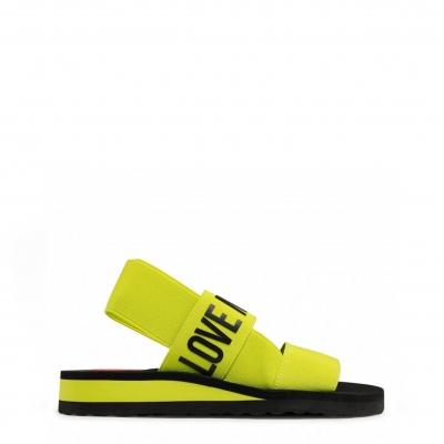 Sandale Love Moschino JA16033G0CJU2 Galben