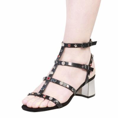 Sandale Ana Lublin TELMA Negru