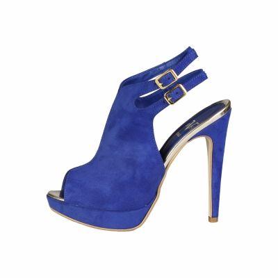 Sandale V 1969 THECLE Albastru