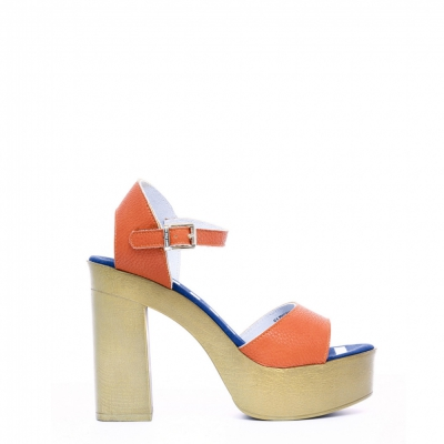 Sandale U.s. Polo Assn. FAYE4026S8_Y1 Portocaliu