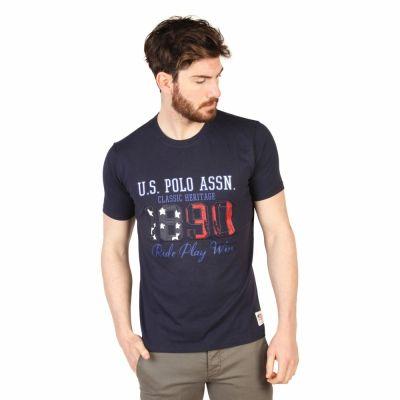 Tricouri U.s. Polo 43674_49351 Albastru