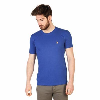 Tricouri U.s. Polo 43676_49351 Albastru