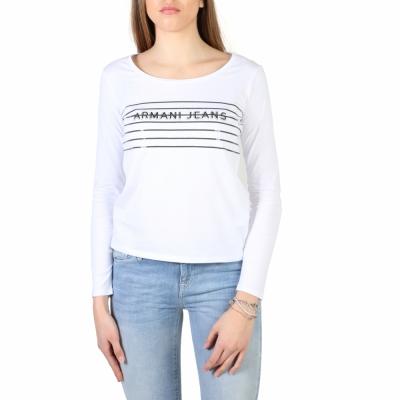 Tricouri Armani Jeans 3Y5T47_5JABZ Alb