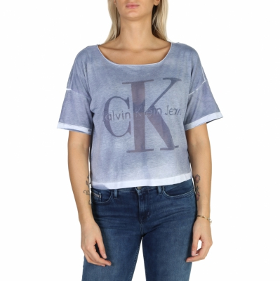 Tricouri Calvin Klein J20J200393 Albastru