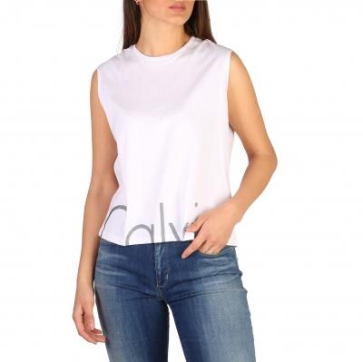Tricouri Calvin Klein J20J206229 Alb