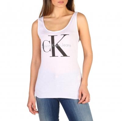 Tricouri Calvin Klein J2IJ204334 Alb