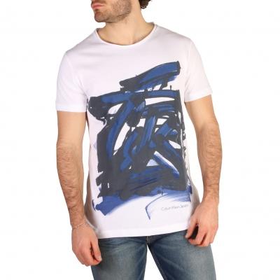 Tricouri Calvin Klein J30J304567 Alb