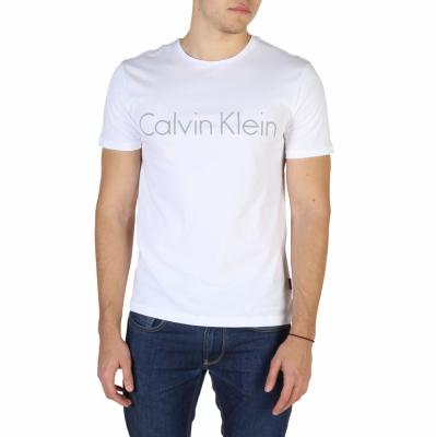 Tricouri Calvin Klein K10K100410 Alb