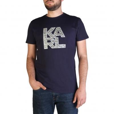 Tricouri Karl Lagerfeld KL21MTS01 Albastru
