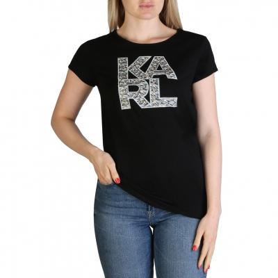 Tricouri Karl Lagerfeld KL21WTS01 Negru