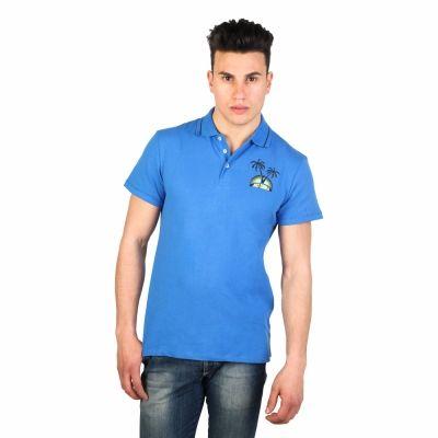 Tricouri polo Just Cavalli 15GRMCF47 Albastru