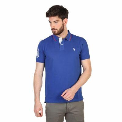 Tricouri polo U.s. Polo 42268_41029 Albastru