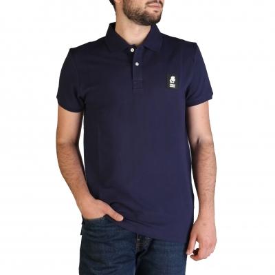 Tricouri polo Karl Lagerfeld KL21MPL01 Albastru