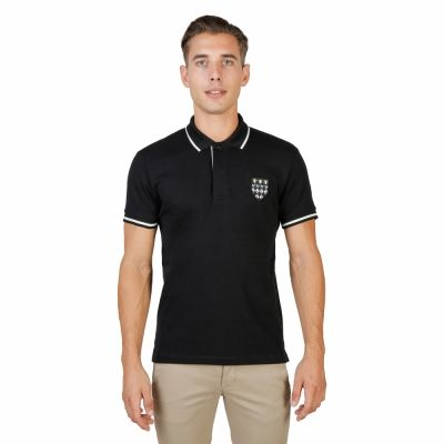 Tricou polo Oxford University MAGDALEN-POLO-MM Negru
