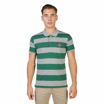 Tricouri polo Oxford University MAGDALEN-RUGBY-MM Verde
