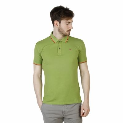 Tricouri polo Napapijri N0YG9I Verde