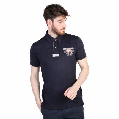 Tricouri polo Napapijri N0YGFS Albastru