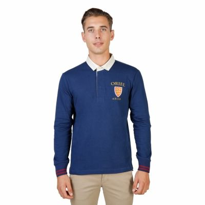 Tricou polo Oxford University ORIEL-POLO-ML Albastru