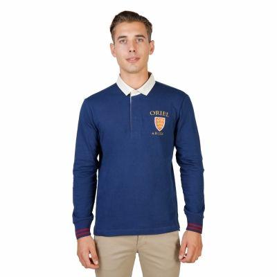 Tricouri polo Oxford University ORIEL-POLO-ML Albastru