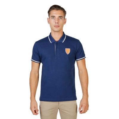 Tricou polo Oxford University ORIEL-POLO-MM Albastru