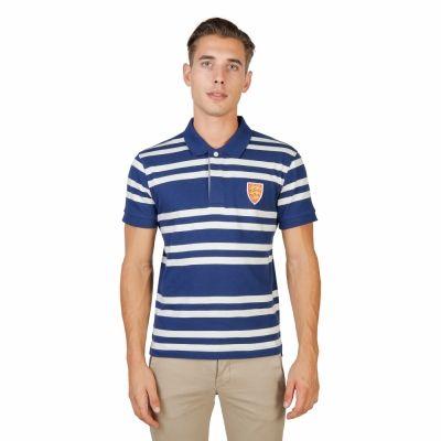 Tricouri polo Oxford University ORIEL-RUGBY-MM Albastru