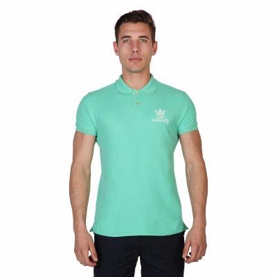 Tricouri polo Oxford University POLOPIQUET-MM Verde