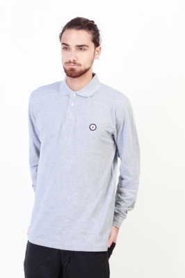 Tricou polo Putney Bridge PBMLP021 Gri