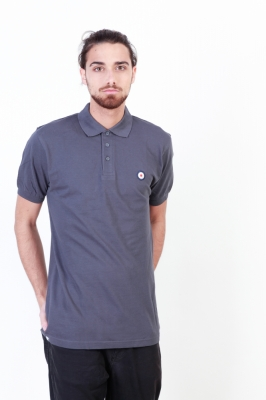 Tricou polo Putney Bridge PBMPT021 Gri