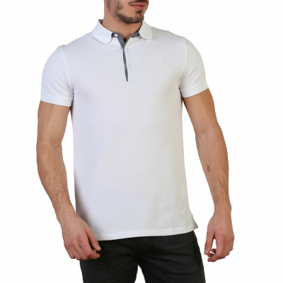 Tricou polo The North Face T0CEV4 Alb